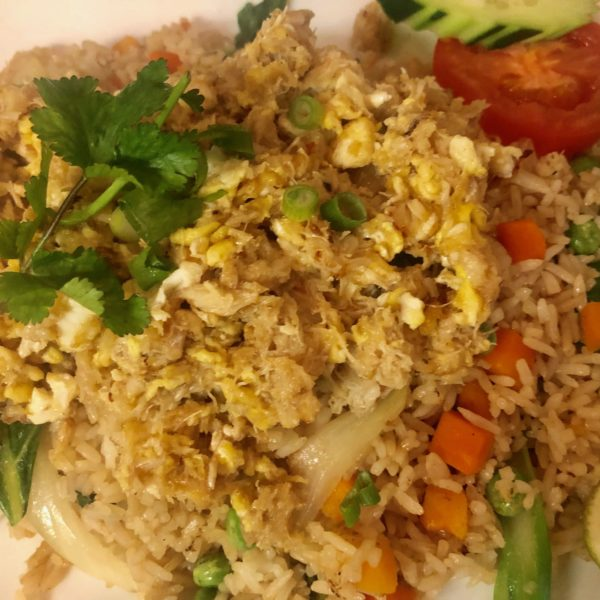 CRAB FRIED RICE with real crab meat